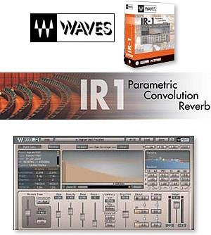 Waves IR1 V2 Convolution Reverb Plug In (Pro Tools (Convolution Reverb Plug)