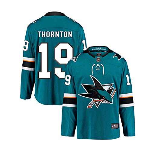 VF San Jose Sharks Hockey Jerseys for Men Personalized Name Number Embroidery Jerseys for Youth Women