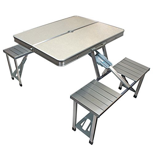 Innovative Edge Design Foldable Picnic Table