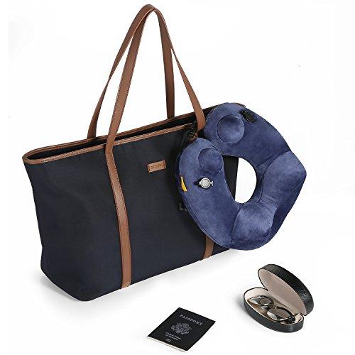 Basic Length Large Shoulder Blue 5 Red Brown Bag Wine Travel Lining CHICECO Black 20 Tote S75wnqSgd