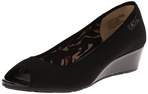 Anne Klein Sport Women's Camrynne Dress Pump, Black, 8 M US Anne Klein Black Dress