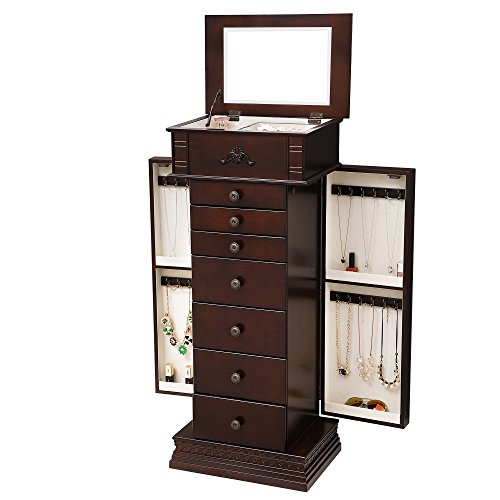 stand up jewelry chest - 2