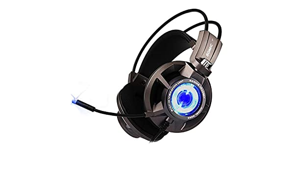 MDYYD Gaming Headset Professional Gaming Headsets 7.1-Channel Surround Sound USB Ergonomic Design Suitable Noise Cancelling Headphones with Microphone Color : Black, Size : M