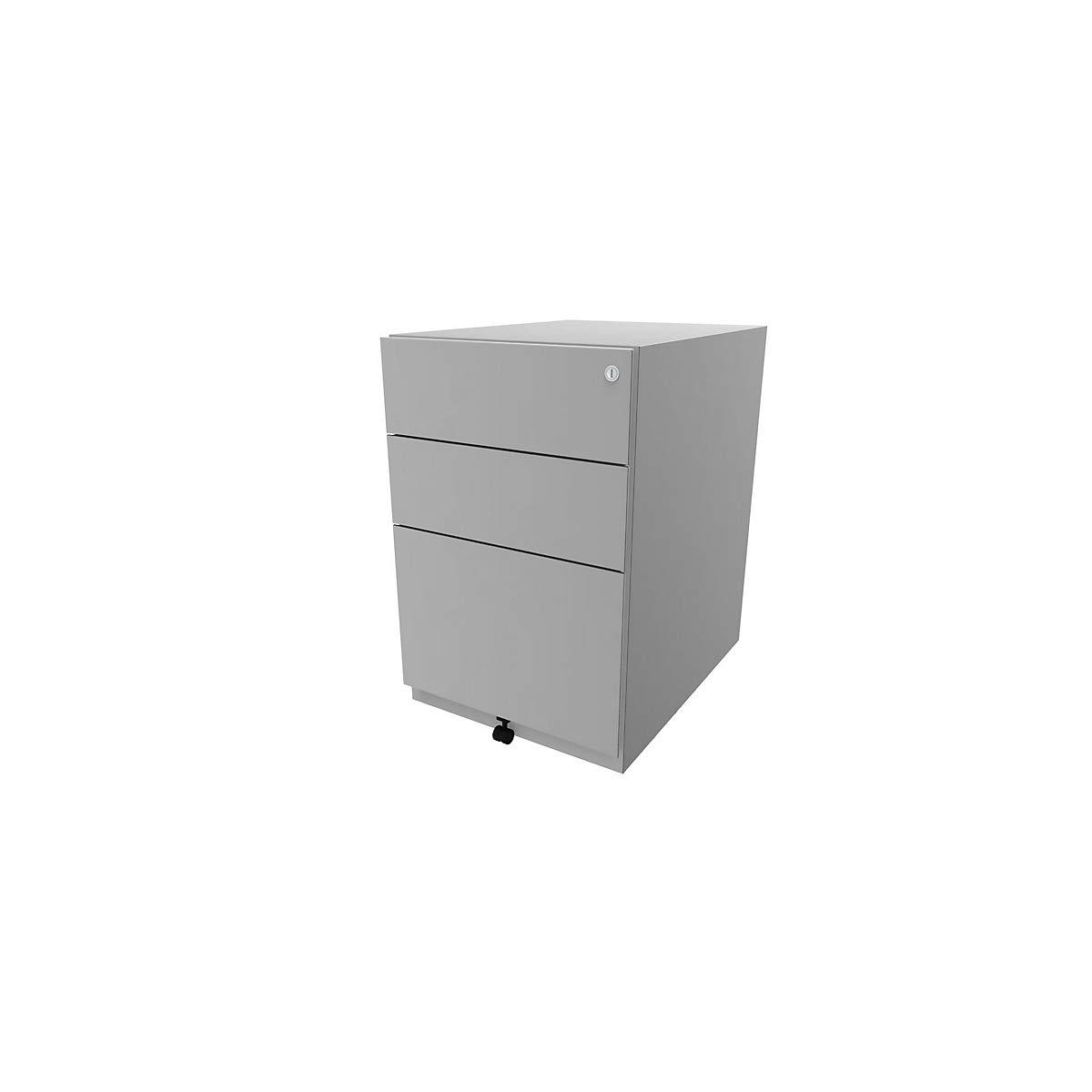 1 HR-Schublade inkl Rolle 5 2 Universalschubladen HxBxT 645x420x565 mm NWA52M7SSF604 Rollcontainer f/ür B/üro Beistellschrank Bisley Rollcontainer Note/™