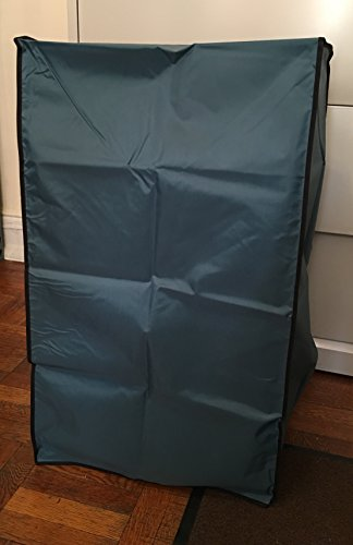 Frigidaire FFPA1422R1 Portable Air Conditioner Petroleum Blue Dust Cover with side package to put the remote control Dimensions 19''W x 16''D x 31''H