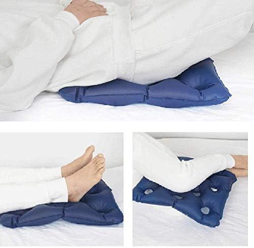 VGZ Luft aufblasbares Kissen Aufblasbare Sitzmatratze Anti-Dekubitus Ideal für längere Sitzlinderung Die Schmerzen geeignet für Bürostuhl Rollstuhl Autositz