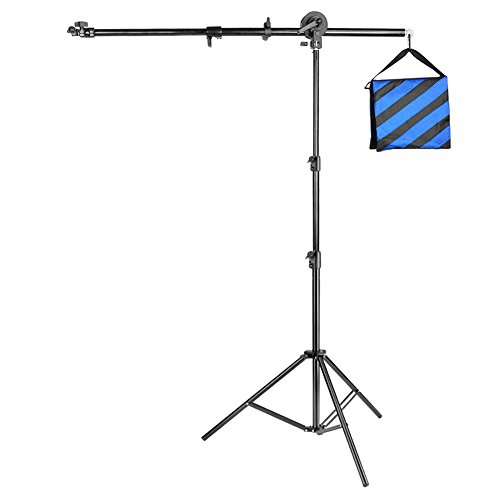 Neewer® Photo Studio Pro 71''/180cm Aluminium Alloy Reflector Holder Arm Support & 83''/210cm Light Stand for Photography Shooting(Reflector Not Included) by Neewer