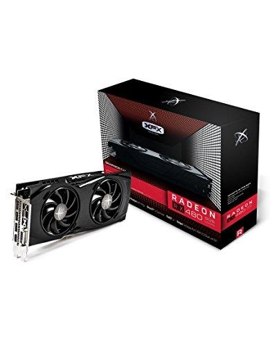 XFX RX-480P8DFA6 AMD Radeon GTR 8GB GDDR5 DVI/HDMI/3Displayport PCI-Express  Video Card