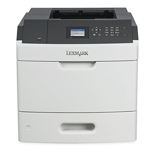 Renewed Lexmark MS810dn Laser Printer 512 MB 55 ppm 1200 dpi Duplex - Ppm Printer 55 Laser