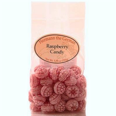 Hermann the German Himbeer Bonbons 150g (Raspberry Candy 5.29oz)