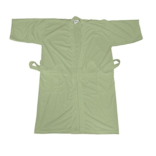 Belted Terry Belt - Betty Dain Cloud 9 Men's Plush Microfiber Spa Robe, Sage, Extra Large
