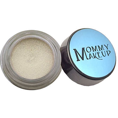 [Any Wear Creme in Prosecco (a Pale Shimmery White Gold) - The ultimate multi-tasking cosmetic - Smudge-proof Eye Shadow, Cheek Color, and Lip Color all-in-one by Mommy] (White Makeup No Smudge)