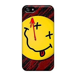 SherriFakhry Iphone 5/5s Bumper Mobile Cases Unique Design HD Nirvana Skin [bmY9551VxYI]