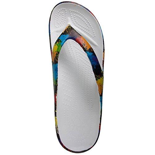 DAWGS Womens Loudmouth Flip Flop Paint Balls NwE6HS