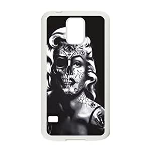 KKDTT Marilyn skull Case Cover For samsung galaxy S5 Case