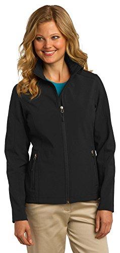 Port Authority Ladies Core Soft Shell Jacket, L, Black