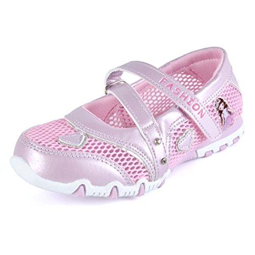 Chaussures Été Fermé Sandales Rose Chaussure Silver Filles river Bout Mode Respirant Doux Fq0nB1w