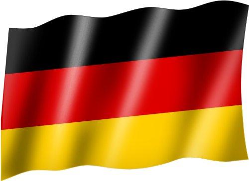 Flagge/Fahne DEUTSCHLAND Flagge/Fahne mit Ösen 150x90 cm, sehr gute Qualität