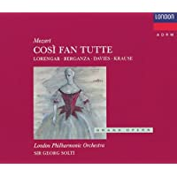 Mozart Wa-Cosi Fan Tutte-T Berganza-P Lorengar-Choeur Royalo Pera Covent Gar-London Phil Orch-Solti