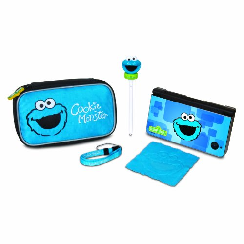 dreamGEAR Sesame Street 5-in-1 Starter Kit for Nintendo DSi XL