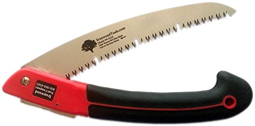 Pixie Slip (210MM FOLDING SAW - Durable Steel Blade with Non-Slip Grip (Hand Tools and Garden Tools))