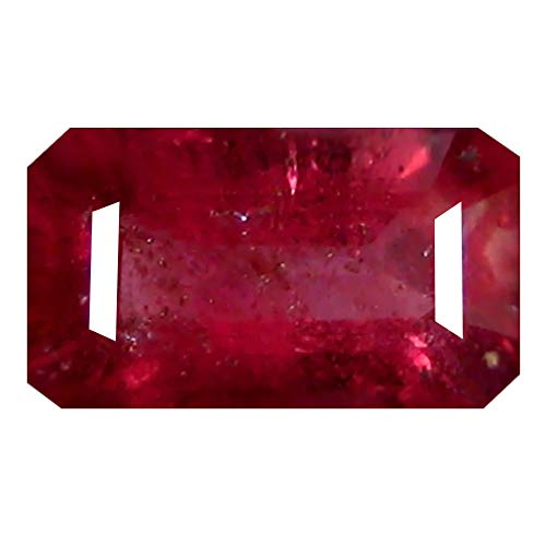 1.72 ct OCTAGON CUT (9 x 5 mm) 100% NATURAL GENUINE UNHEATED UNTREATED CEYLON PINK SAPPHIRE LOOSE GEMSTONE