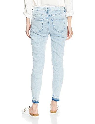 New Look Jeans Femme Drop Blue Light Bleu Hem wUq8frvw