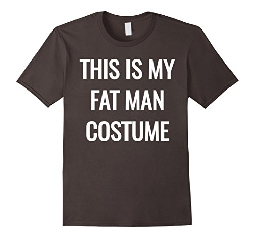Mens This Is My Fat Man Costume T-Shirt 2XL (Costumes For Fat Guys)