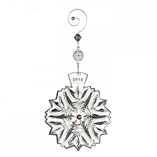Waterford Crystal Snowflake Wishes 2015 Wishes for Health Ornament