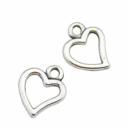 Jewelry Findings & Components Collection Here Zinc Alloy Pendant Jewelry Accessories Diy Handmade Material Charms Double Orifice Connection Of 10 X 25 Mm Beads & Jewelry Making