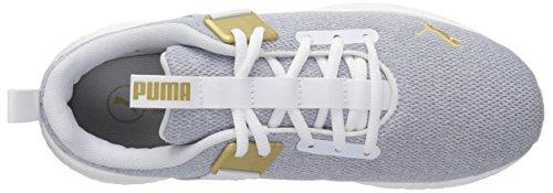Puma Vrouwen Mega Nrgy Straat Wn Sneaker Puma Wit-puma Teamgoud