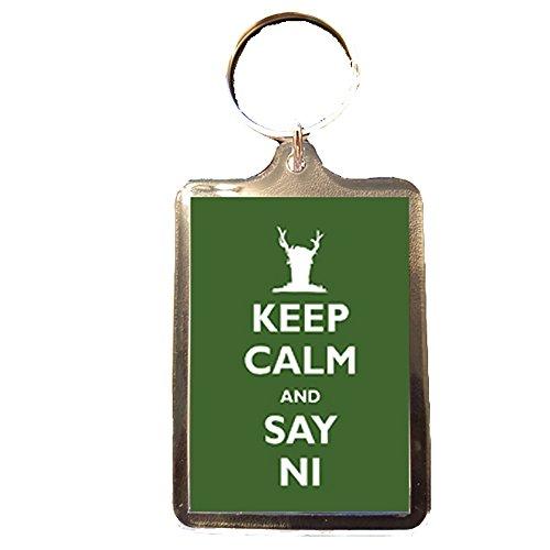 Monty Python - Keep Calm Keyring (Say - Python Monty Keychain
