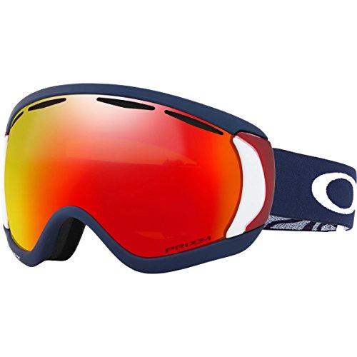 Oakley Canopy Snow Goggles, USOC Blazing Eagle Frame, Prizm Torch Iridium Lens, (Eagle Goggles)