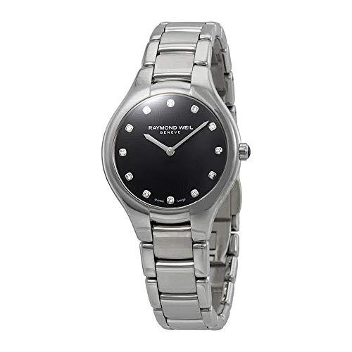 Raymond Weil Noemia Black Diamond Dial Ladies Watch ()