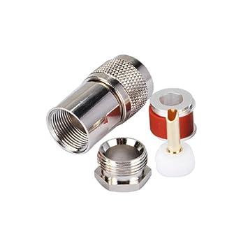 Superbat RF UHF PL259 conector macho para cable coaxial ...