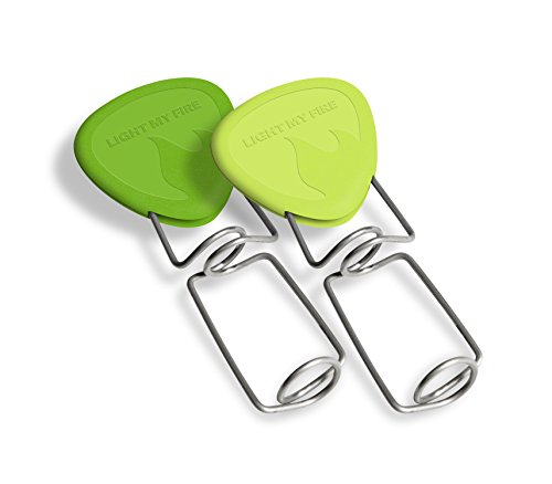 Fork Light (Light My Fire Grandpas FireFork Campfire Roasting Accessory, Lime/Green - Set of 2)