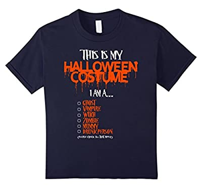 This is my Halloween Costume Funny T-Shirt. Ghost Vampire