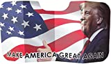 aahs!! Engraving Funny Donald Trump Foldable Poster | Windshield Cover | Sun Shade for Car | Premium Cardboard (Donald Trump 'Make America Great Again')