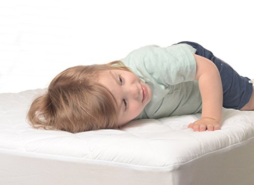 MILLIARD Quilted, Waterproof Crib & Toddler Mattress Protector Pad, Premium Hypoallergenic Fitted Cover with Extra Padding 28x52x6 by Milliard (Image #4)