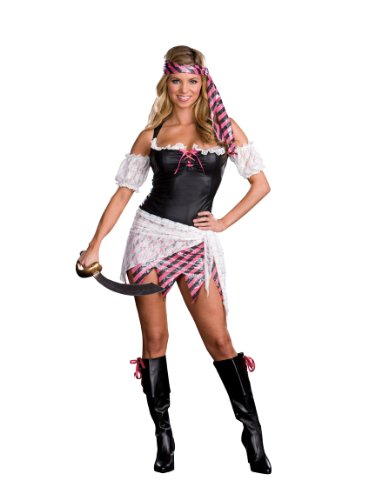 Treasure Hunters Costume (Sexy Pirate Wench Buccaneer Treasure Hunter Costume (Large))