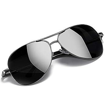 Simsco Polarized Aviator Black Sunglasses with TAC Material Sunglasses For Men Latest and Sunglasses For men Stylish Wayfarer Sunglasses for Medium size धूप का चश्मा