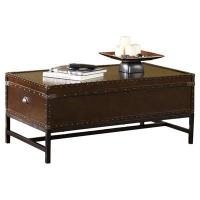 Southport Trunk Coffee Table With Lift Top