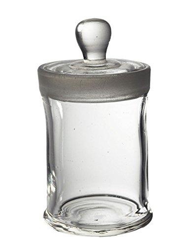 Glass Specimen Jar, 90 x 60mm with lid