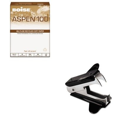 KITCAS054924UNV00700 - Value Kit - Boise ASPEN 100 Office Paper (CAS054924) and Universal Jaw Style Staple Remover (UNV00700)