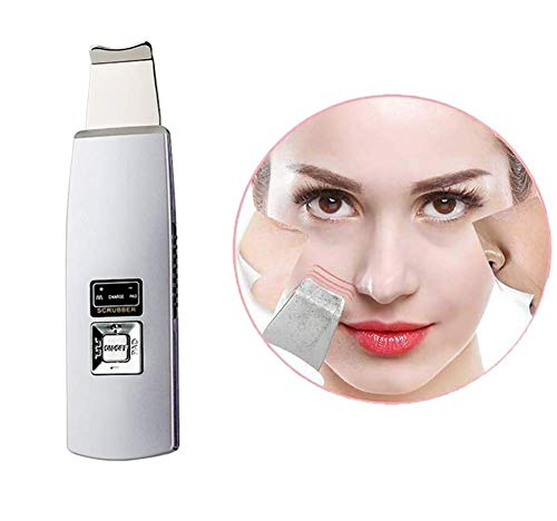 XQHLD Facial Skin Scrubber Portable to Remove Blackheads Skin Scrubber Peeling Wrinkle Removal Machine Cleaner Facial Beauty Device