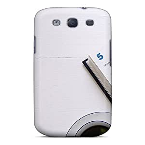 Galaxy S3 Case Cover - Slim Fit Tpu Protector Shock Absorbent Case (coffee And Notes)
