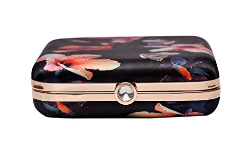 Sugarcrush™ Women Party Wear Hand Box clutch Purse With Detachable Sling Must Buy For Women and Girls