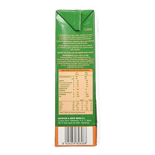 Gerblé Bebida de Soja Calcio con Sabor Avellanas - 1000 ml: Amazon.es: Amazon Pantry
