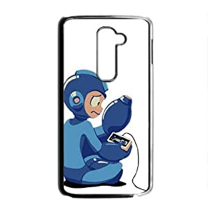 SKULL Blue Rockman Cell Phone Case for LG G2