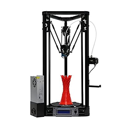 HITSAN Anycubic Kossel Upgraded Pulley Version 3D Printer With Auto-Leveling Dual Cooling Fans 180mm300mm One Piece